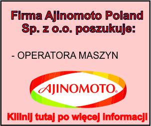 ajinomoto operator maszyn