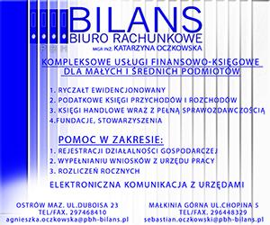 BILANS - Oczkowska