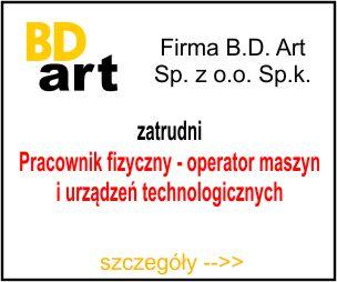 BD-ART - Pracownik fizyczny - operator maszyn i urządzeń technologicznych1