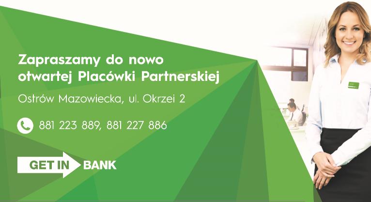 Getin Bank w Ostrowi Mazowieckiej